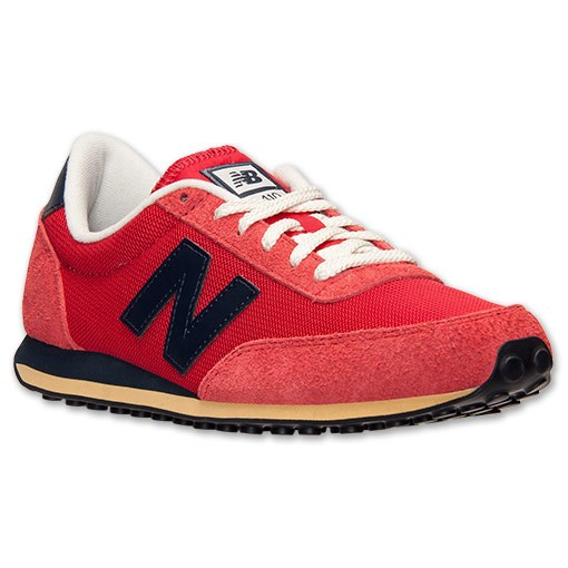 New Balance 410 Classics Hommes Chaussures De Ville Rouge/Marine U410HRNY RNY