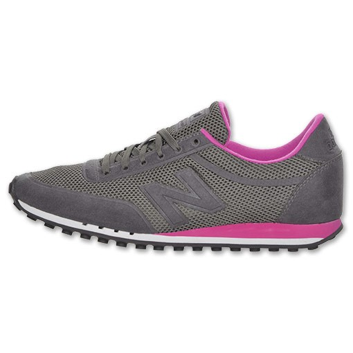 New Balance 410 Mesh Femme Chaussures De Sport Gris/Rose WS410GY GRY