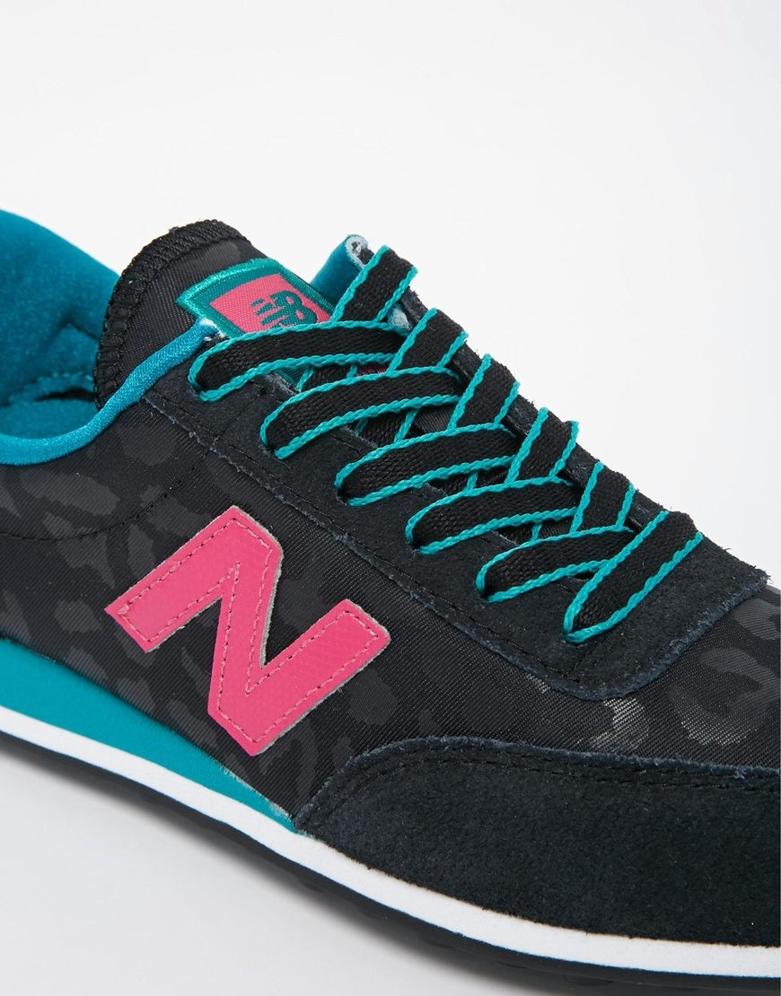 new balance leopard rose