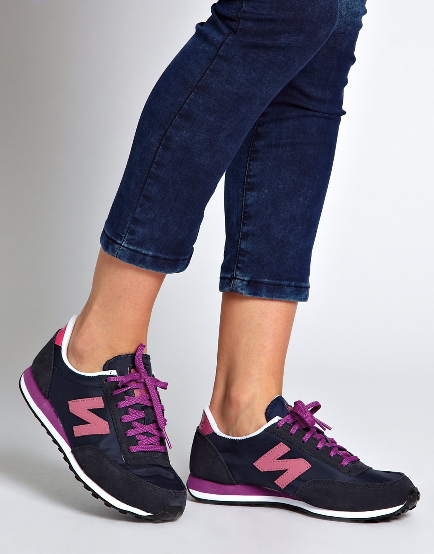 new balance 410 bleu marine rose