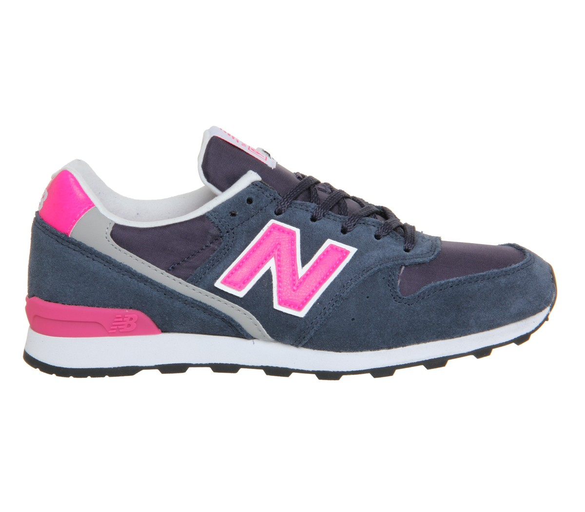 New Balance Wr996 Sneakers Pour Femme Marine Rose Lueur