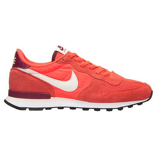 Homme Nike Internationalist Trainers Écarlate/Verre De Mer/Méchant Rouge 631754 602
