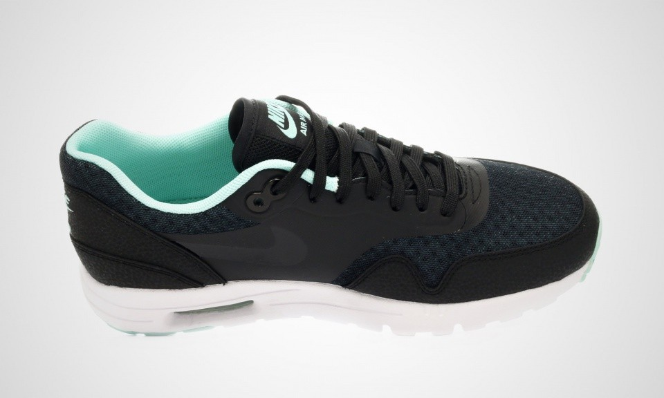 Nike Air Max 1 Ultra Essential Sneakers Pour Femme Menthe Noire 704993-003