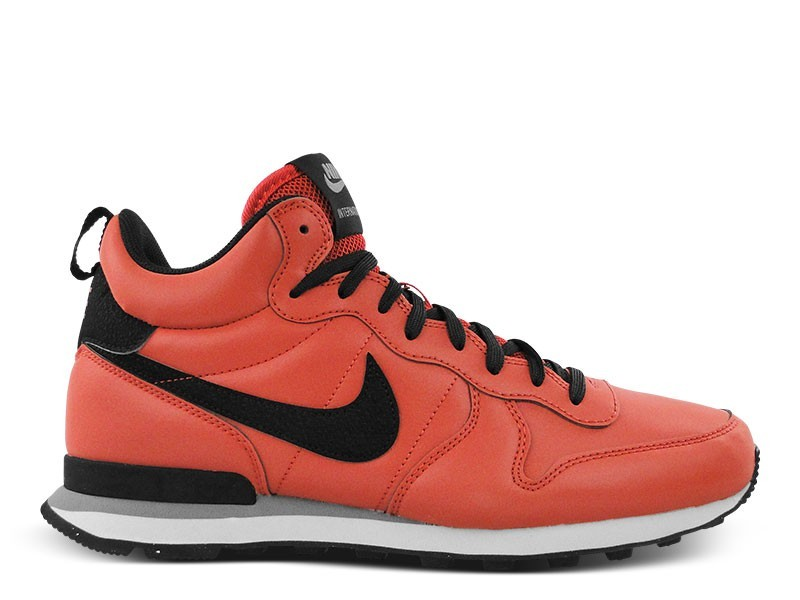 Nike Internationalist Mid QS Reflective Homme Trainers Argile Rouge/Noir 696424 600