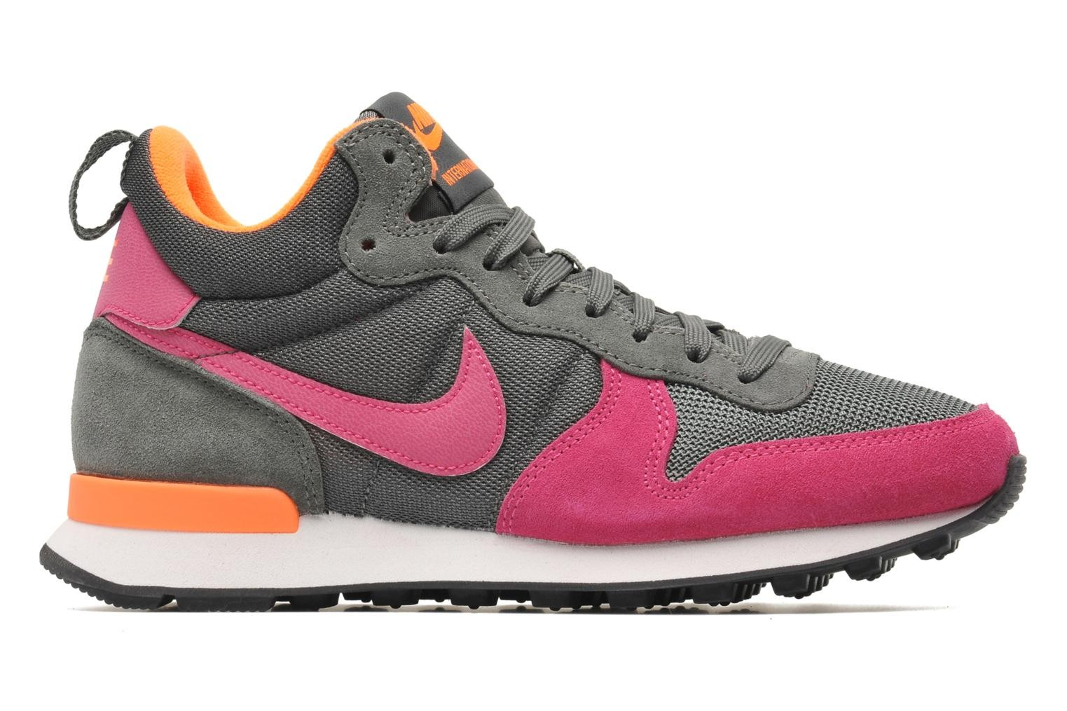 Nike Internationalist Mid Femme Chaussures River Rock/Orange Total/Sommet Blanche/Fireberry 683967-003
