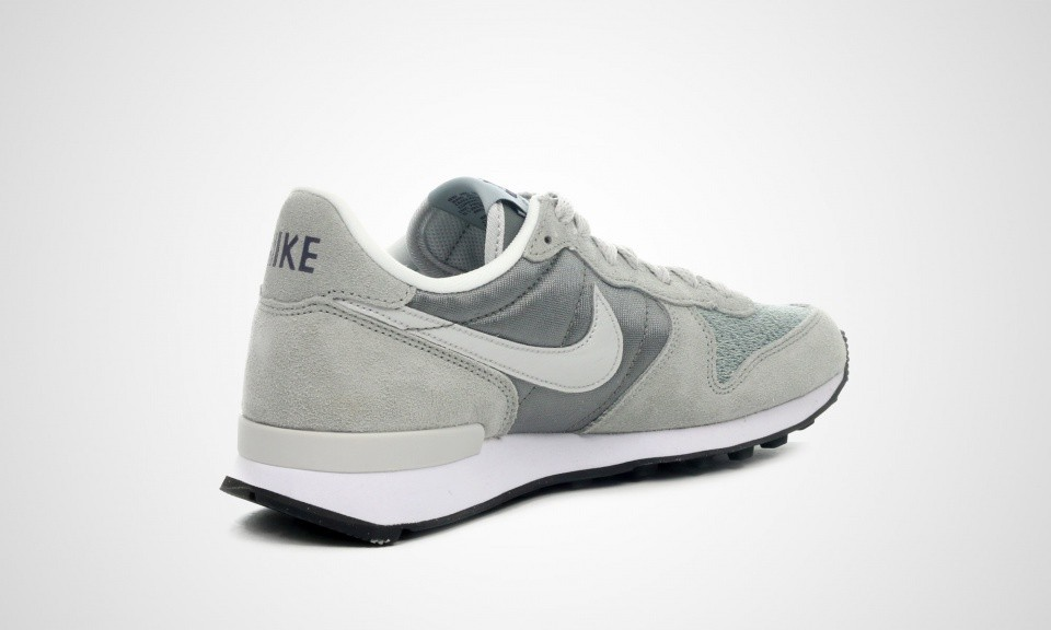 Nike Internationalist Homme Chaussures De Sport Base Grise Mi/Cendres Gris Clair-Base Grise 631754 005