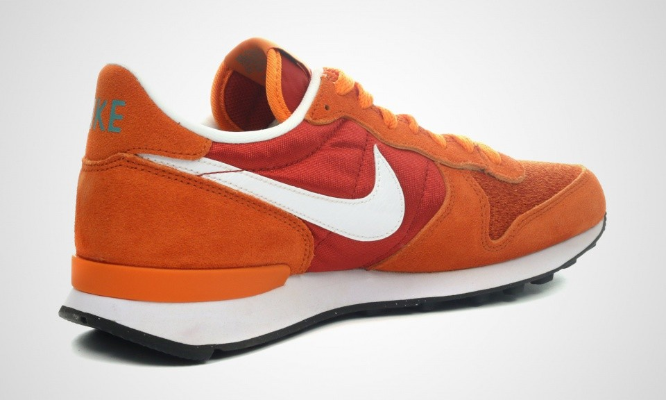 ... Nike Internationalist Autumn Homme Trainers Orange/Cinabre/Blanche-Rouille  Toscane 631754-601 ...