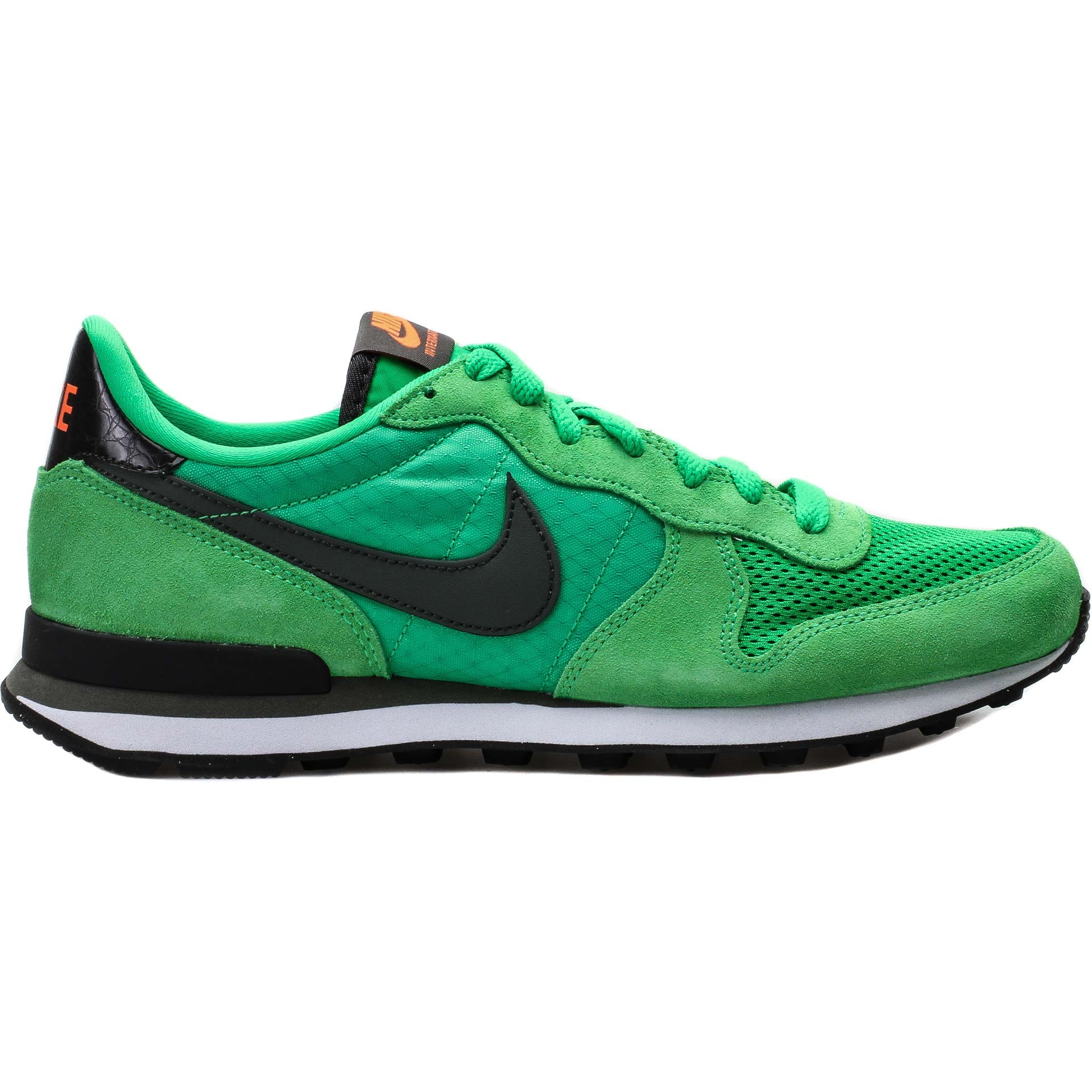 Homme Nike Internationalist Trainers Feu Vert Étincelle/Anthracite/Pierre De Jade/River Rock 631754-301