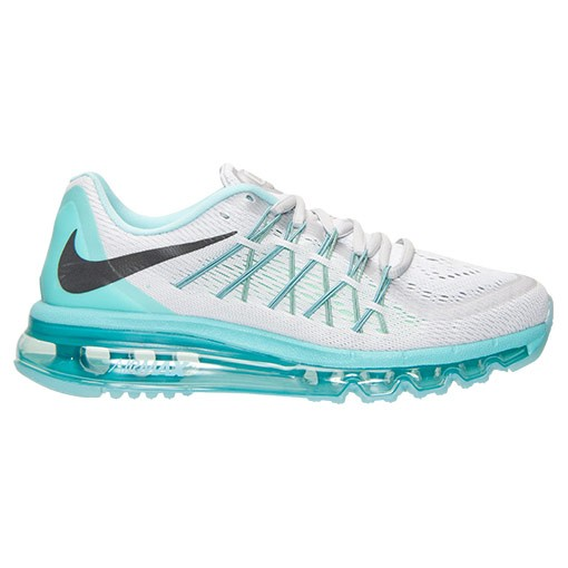 nike blanche et turquoise
