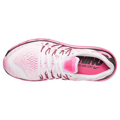 Femme Nike Air Max 2015 Trainers Blanche/Rose Pow/Noir 698903 106