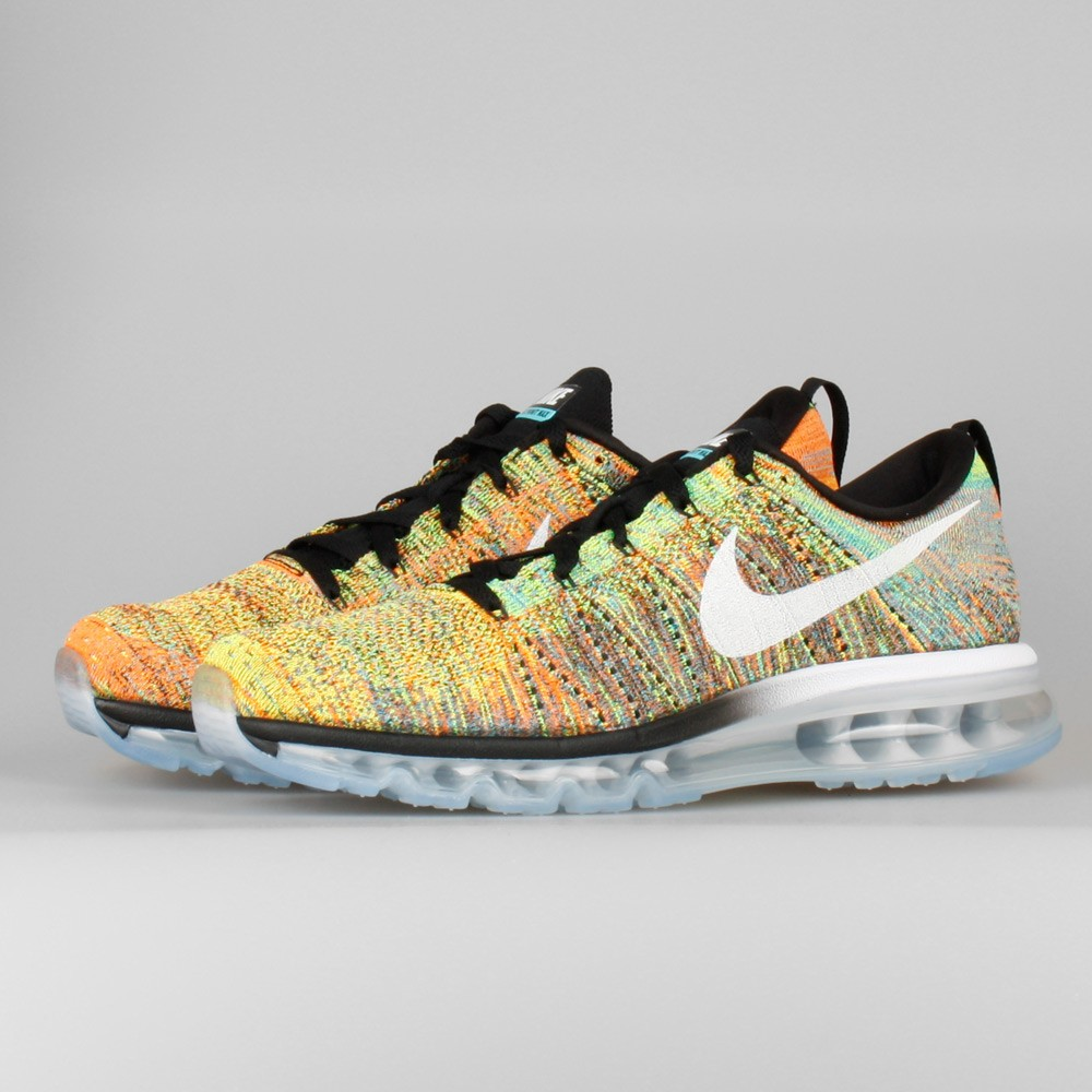 Nike Flyknit Air Max Multi Color Hommes Chaussure De Running
