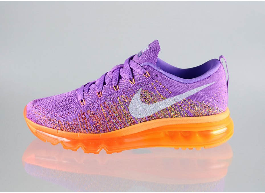 Authentique Femme Nike Flyknit Air Max Chaussure Pour Courir ...