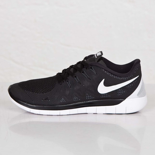 Nike Free 5.0 2014 Homme Chaussures Noir/Anthracite/Blanc 642198-001
