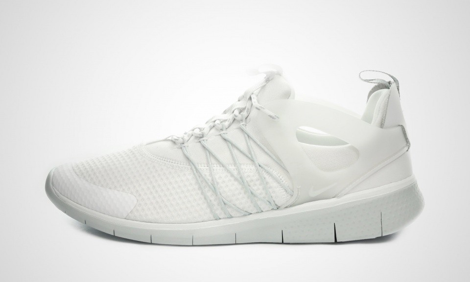 Nike Free Viritous Homme Trainers Blanche Loup Gris