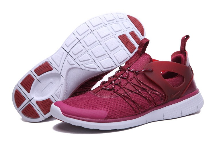 premium selection 94841 cb53a ... Nike Free Viritous Homme Chaussures Training Rouge Bourgogne Blanche ...