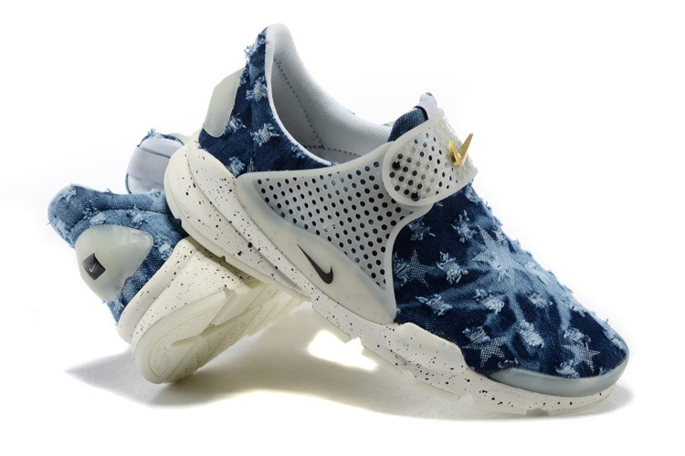 new arrival bc633 1299e ... coupon code for fragment design x nike sock dart sp denim stars unisex  chaussures bleu voile