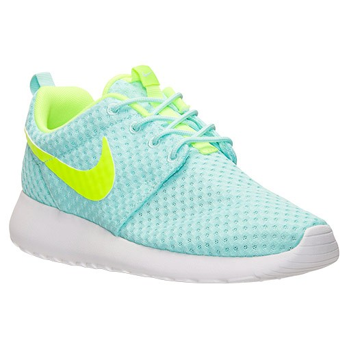 Nike Roshe One BR (Breeze) Sneakers Pour Femme Artisan Sarcelle/Volt/Blanche 724850 371