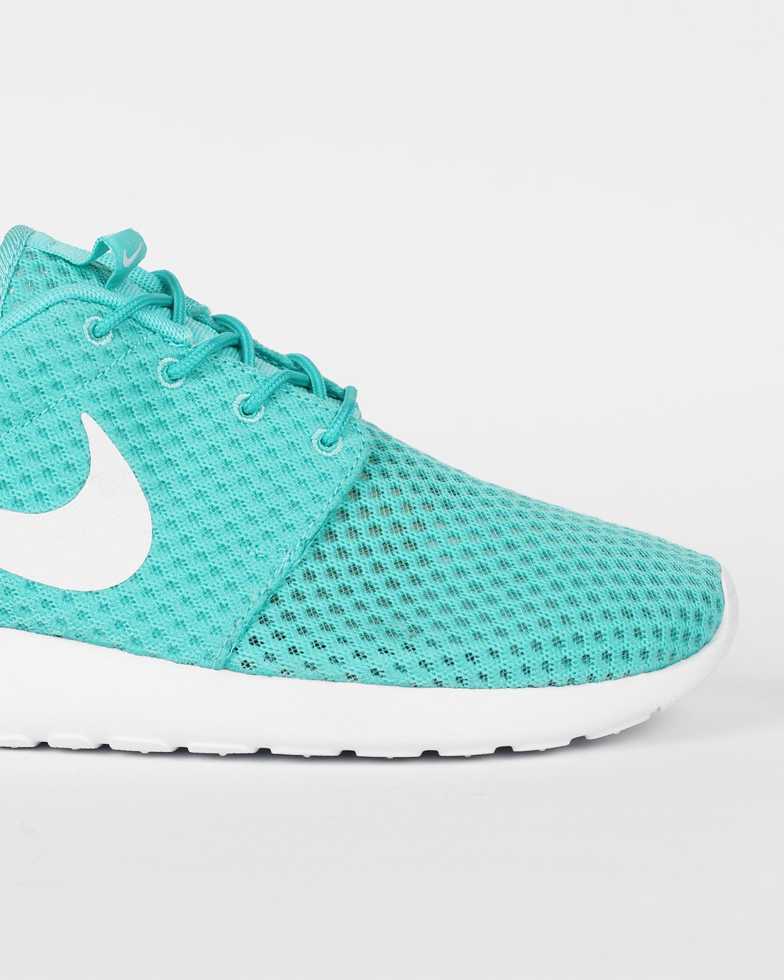 online retailer 27f9f 49416 ... Nike Roshe One BR (Breeze) Calypso Chaussures Pour Femme Blanche Bleu- Vert 718552 ...