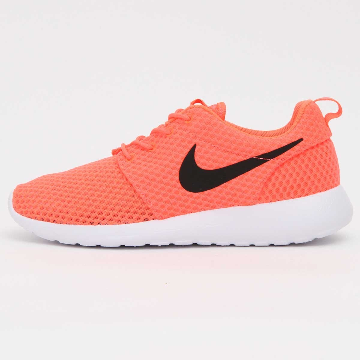 Nike Roshe Run BR (Breeze) Hommes Trainers Lave Chaude/Noir/Blanc 718552-801
