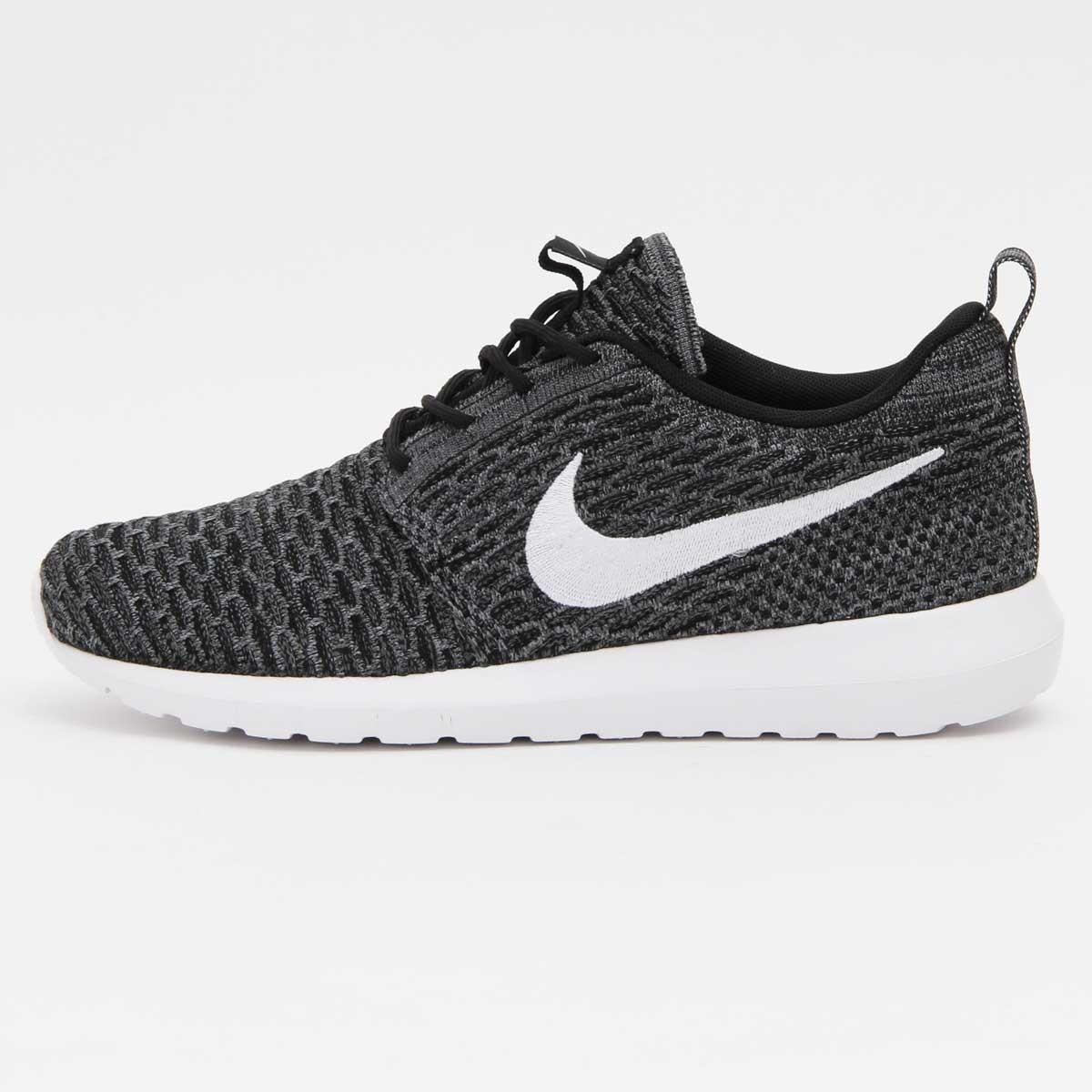 chaussure nike wmns roshe run flyknit gris
