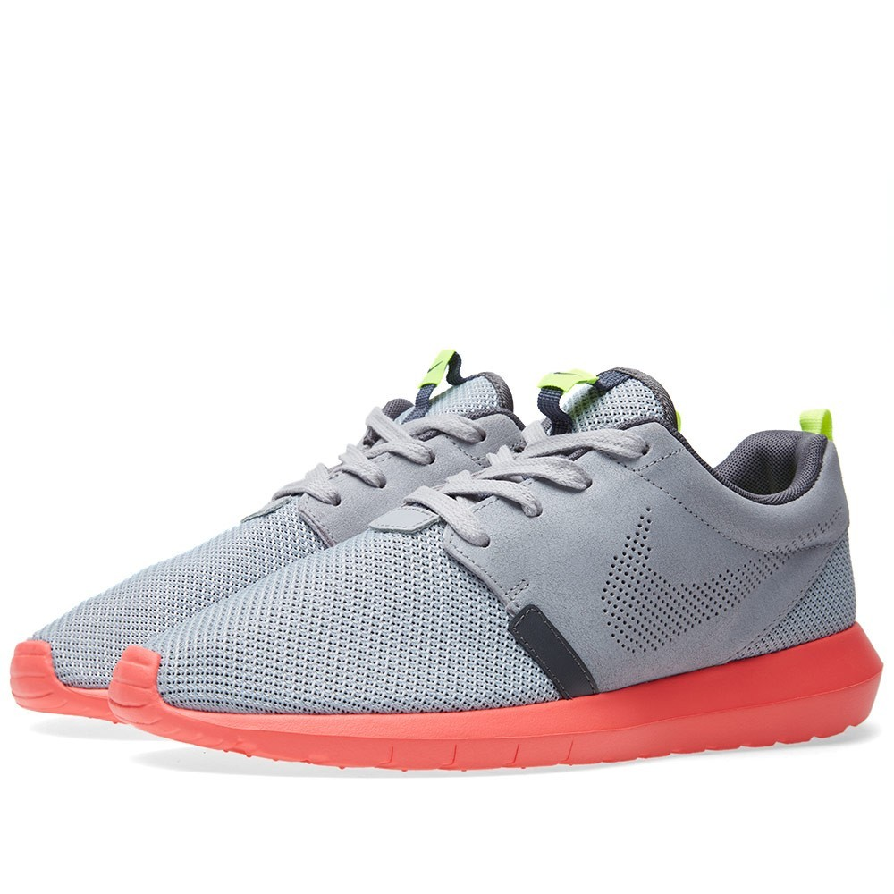 Authentique Vente Homme Nike Roshe Run NM FB Sneakers Loup