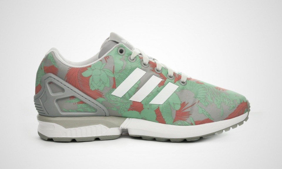 adidas zx flux rose clair