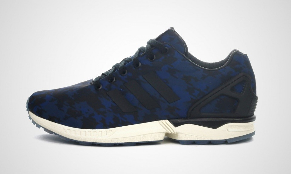 "Adidas ZX Flux ""Italia Independent Pack"" Hommes Chaussures Marine Core/Noir/Blanche Coeur b32739"