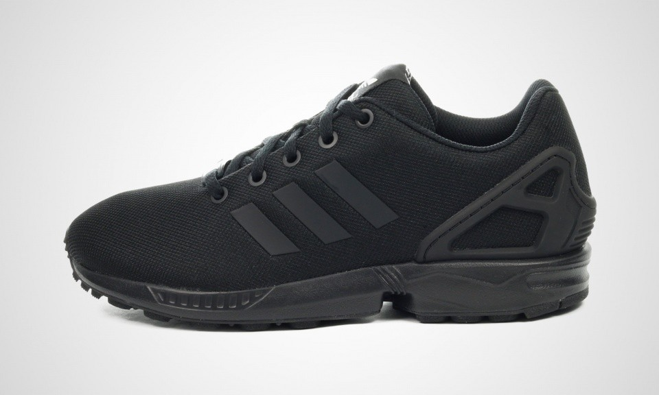 Grossiste Adidas Originals ZX Flux K Black FemmesJuniors
