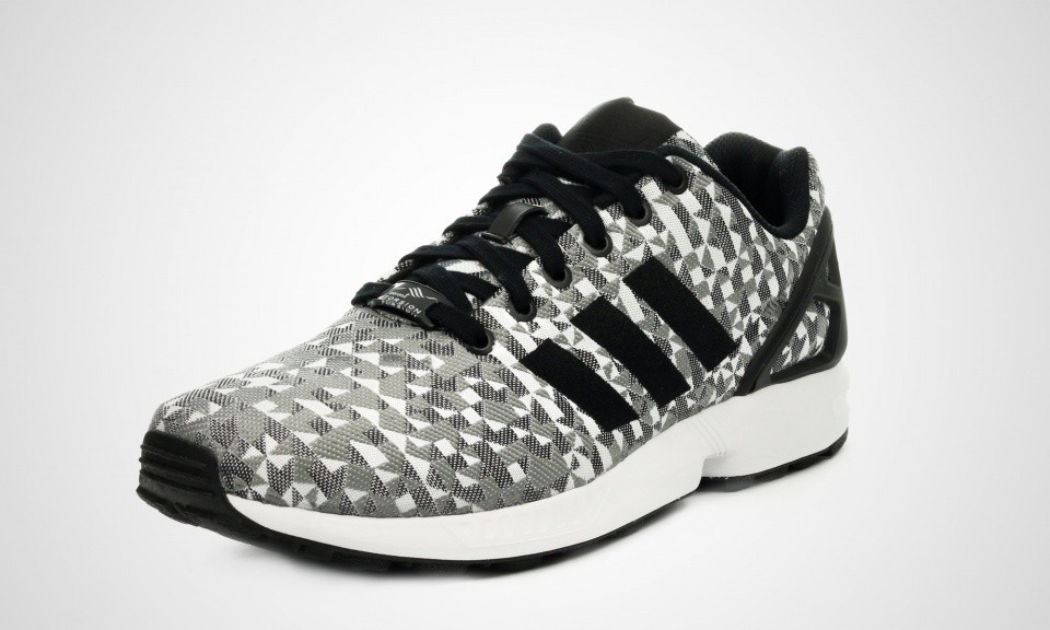 Chaussures Adidas ZX Flux grises Fashion homme ySPTMl7aT0