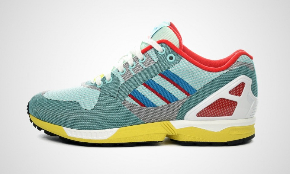 Adidas ZX Flux Weave 9000 OG TORSION HYDRA Chaussures Pour Homme HydraAqua